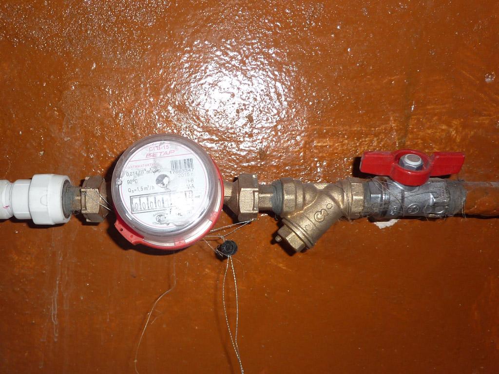 Как в домашних условиях проверить водяной счетчик 632